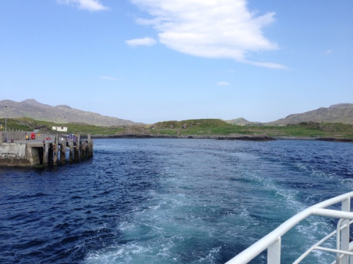 Leaving Kilchoan