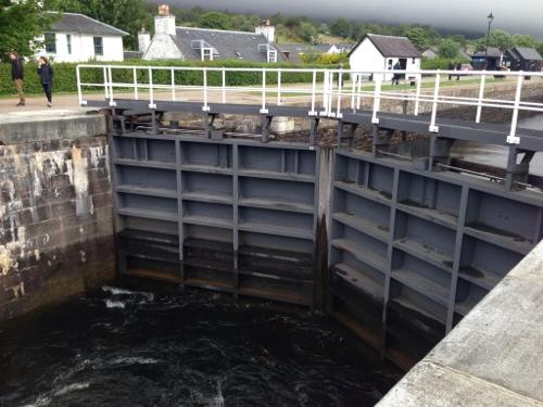 Loch gates