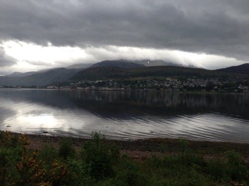 Looking across to Fort William 2