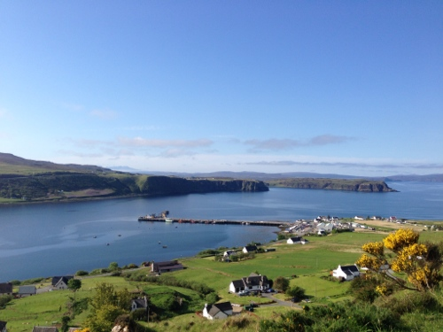Looking back down towards Uig