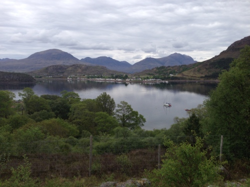 Looking back to Shieldaig