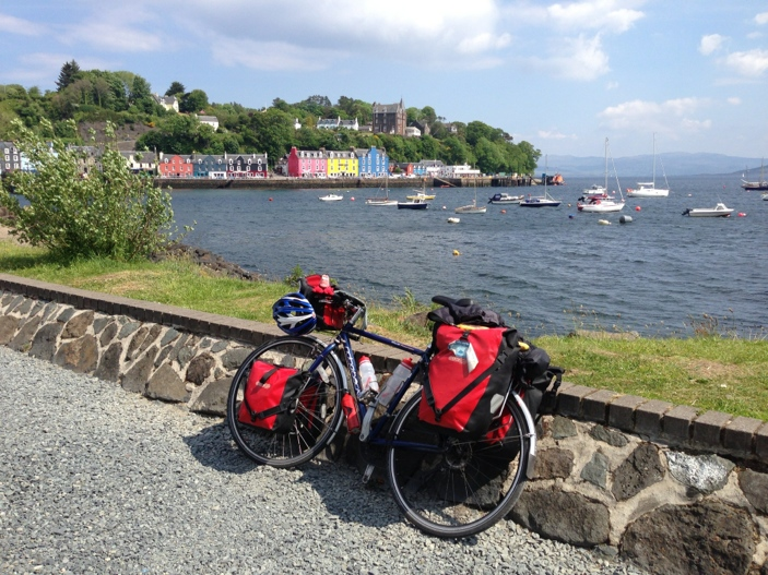 My trusty steed in Tobermory