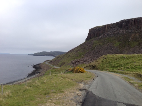 Road around the North of Skye