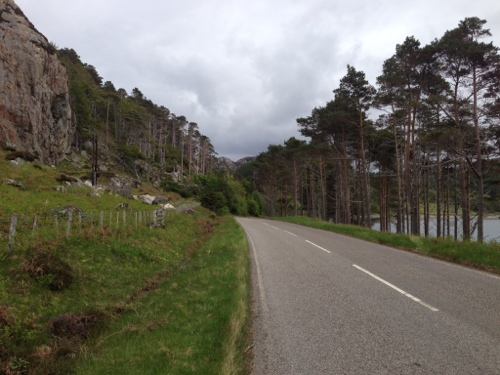 Road around to Laide