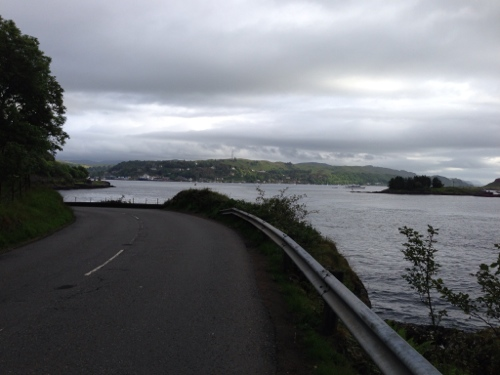 Road around to Oban
