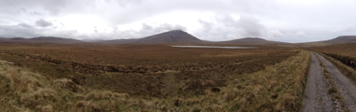 Road through moorland to Cape Wrath