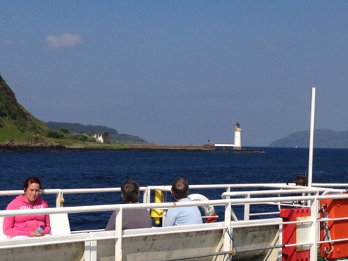 Round the point to Tobermory