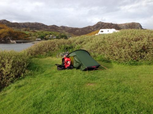 Scourie campsite