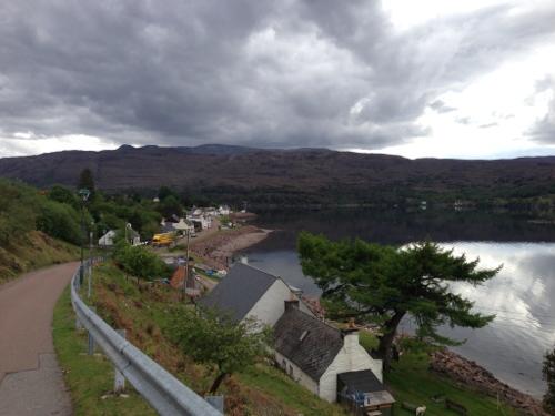Shieldaig village