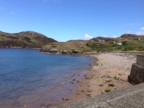 Shoreline in Kinlochbervie