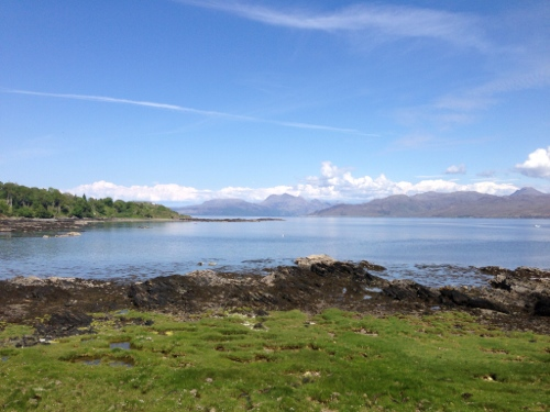 Sound of Sleat coastline