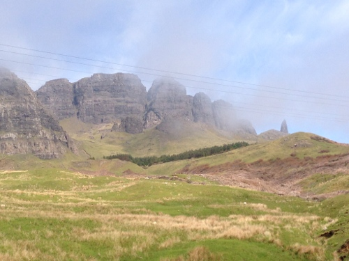 Storr Mountain and Old Man of Storr