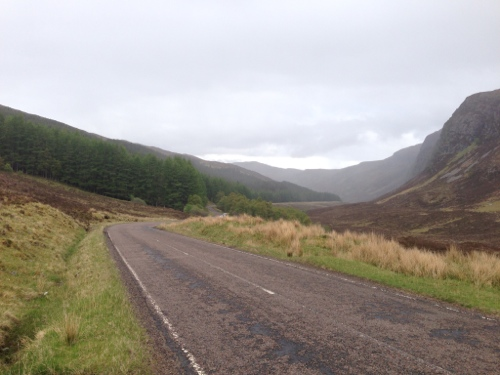 The descent to Dundonnell