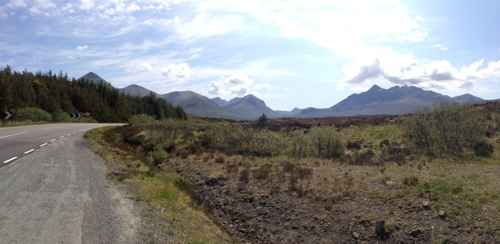The road to Sligachan