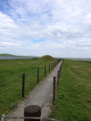 Unstan Cairn mound
