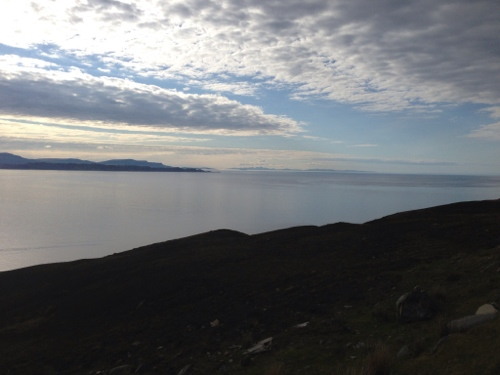 View across Inner Sound towards Skye