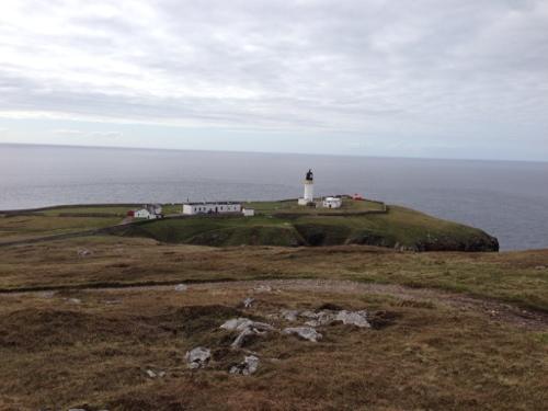 View from hilltop down to Lighthouse