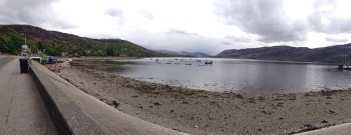 View from Ullapool across Loch Broom