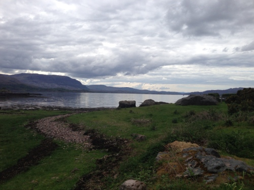 View of Upper Loch Torridon, from Torridon
