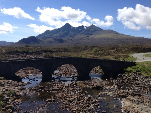 View of Cuillins from Sligachan
