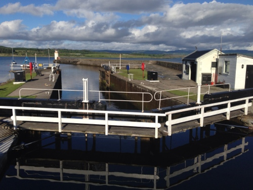 Ardrishaig - end of Crinan Canal