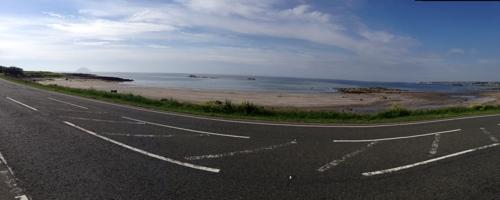 Back on the coast near Turnberry