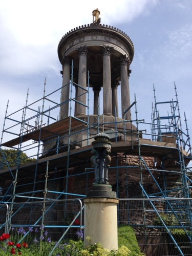 Burns memorial - getting a facelift apparently