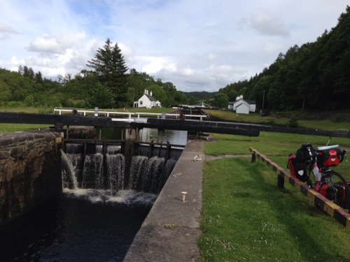 Crinan Canal 2 - loch gate
