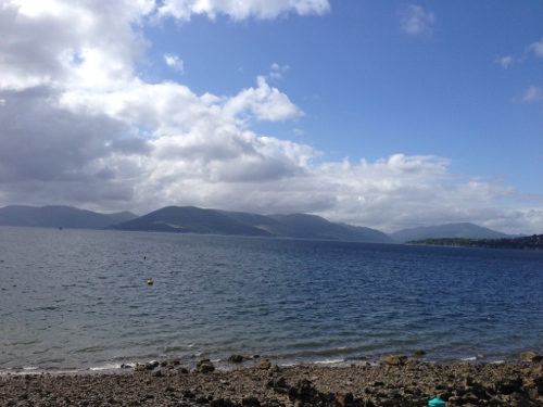 Firth of Clyde near Gourock