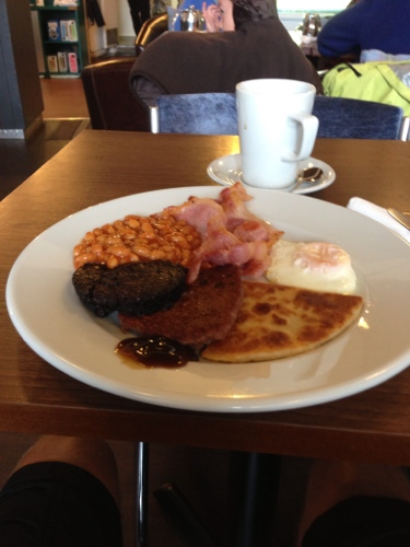 Fry up at Bluebell Cafe