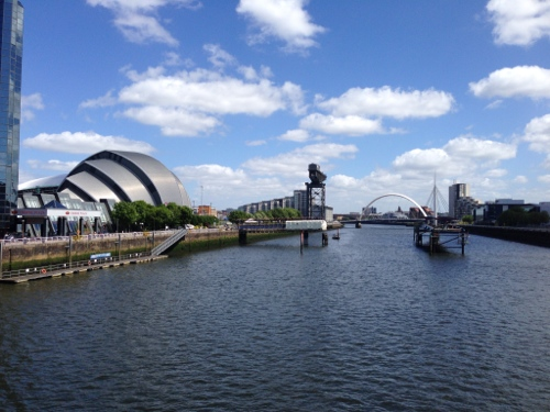 Glasgow and the River Clyde
