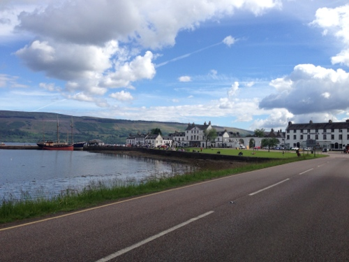 Inveraray waterfront