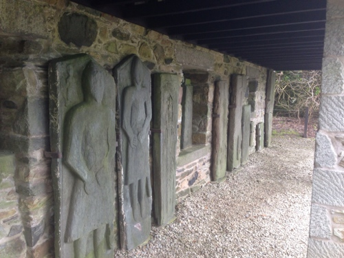 Kilberry sculpted stones 1