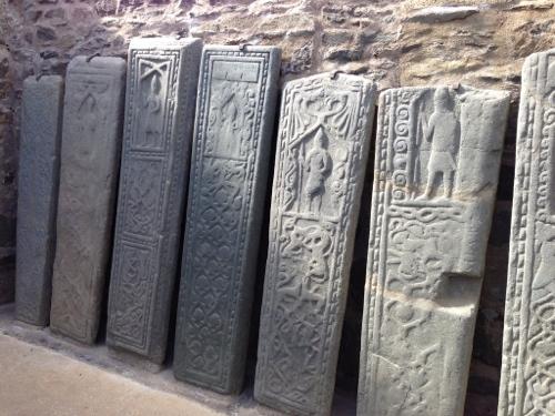 Kilmartin - Medieval carved gravestones