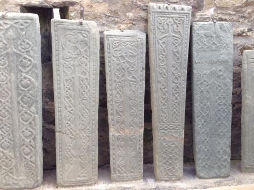 Kilmartin - Medieval carved gravestones 2