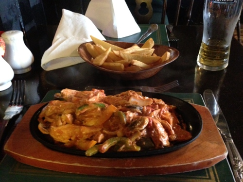 Lairds Inn and sizzling chicken