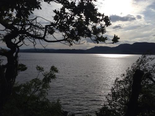 Loch Fyne - clouds suddenly made things go dark