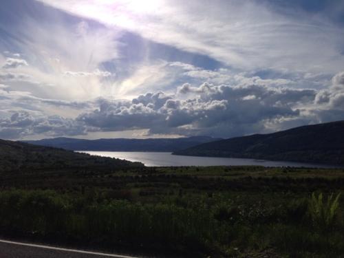 Loch Fyne from on high
