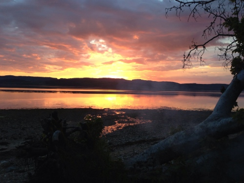 Loch Fyne sunset 2