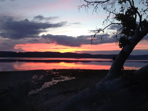 Loch Fyne sunset 4
