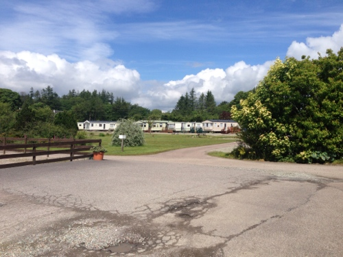 Lochgilphead campsite