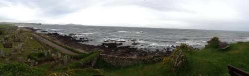 Mull of Kintyre panorama