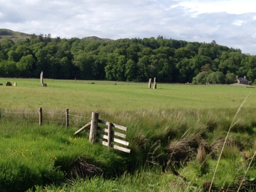 Near Kilmartin - Cairns and standing stones abound
