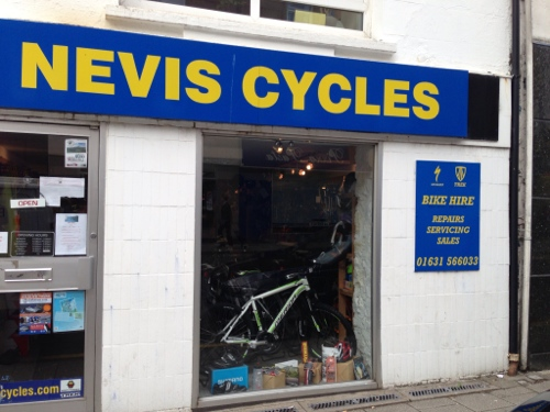 Nevis Cycles - Oban