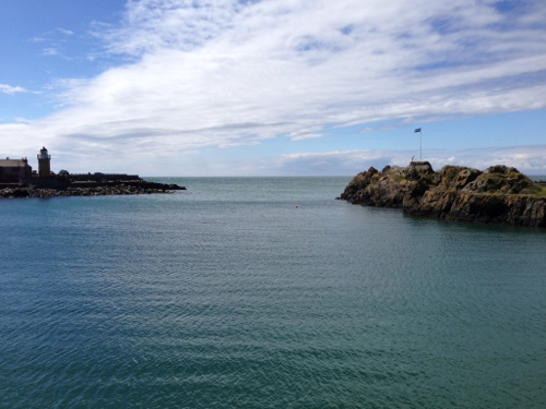Portpatrick harbour entrance