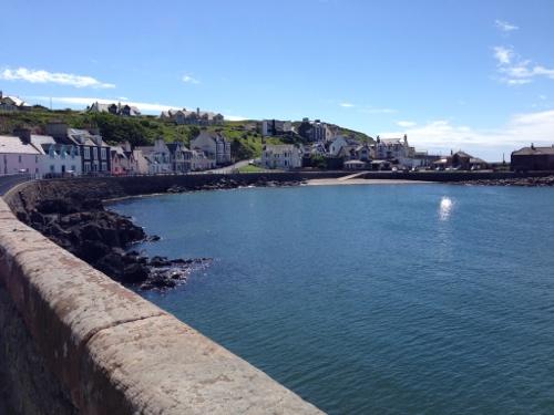 Portpatrick harbour front
