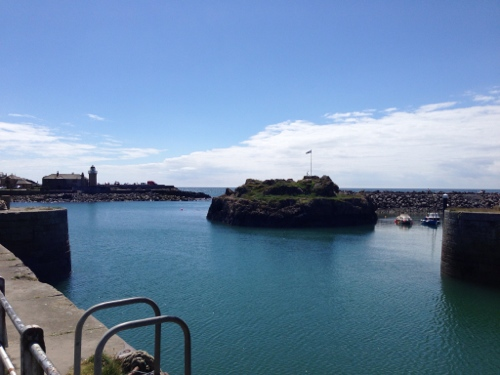 Portpatrick inner and outer harbours