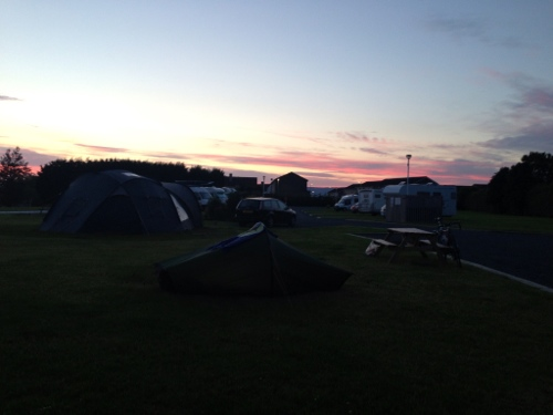 Stepps campsite