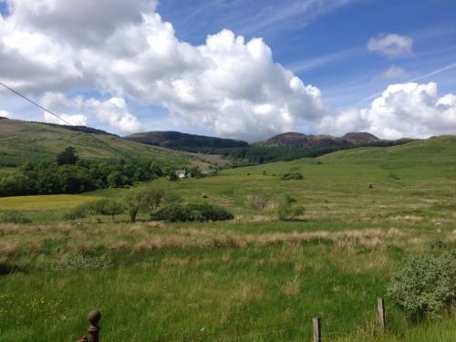 The hills before Inveraray