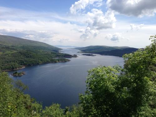 View from above Tignabruiaich 2